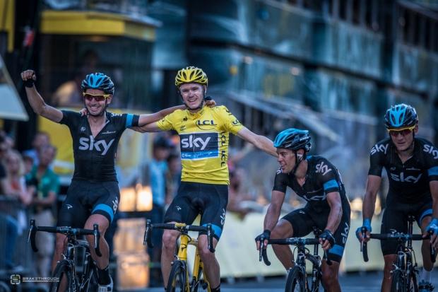 2013 Tour de France - Race to the Champs