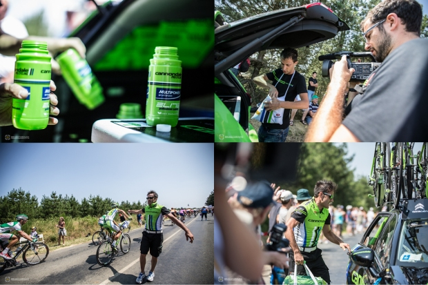 Inside the Feedzone with Cannondale Pro Cycling