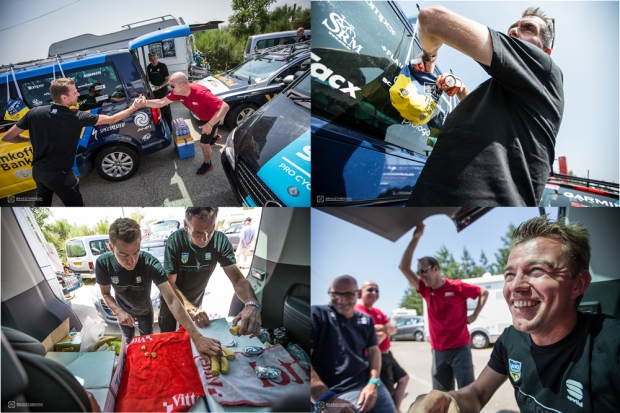 Inside the Feedzone with Team Saxo-Tinkoff